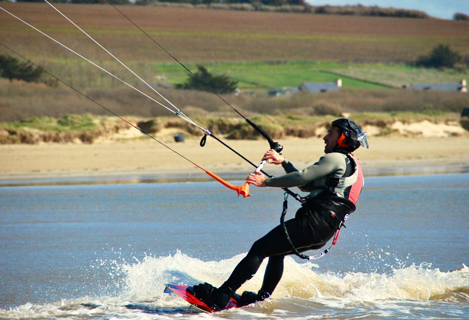 stage kitesurf finistere initiation